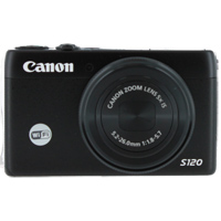 Canon PowerShot S120 12.1 Megapixel Digital Camera - Black