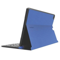Kensington KeyFolio Exact Thin Folio with Keyboard for iPad Air - Blue