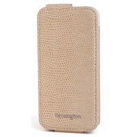 Kensington Portafolio Flip Wallet for iPhone 5/5s - Coffee Snake
