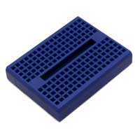 Schmartboard Inc. Blue Breadboard w/ 170 Tie Points and Adhesive Back