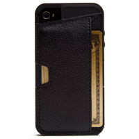 CM4 Q Card Case for iPhone 4/4s - Black Onyx