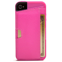 CM4 Q Card Case for iPhone 4/4s - Pink