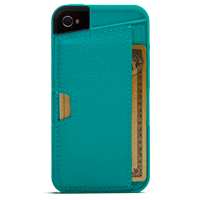 CM4 Q Card Case for iPhone 4/4s - Green
