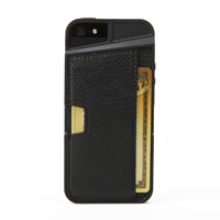 CM4 Q Card Case for iPhone 5/5s - Black Onyx