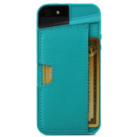CM4 Q Card Case for iPhone 5/5S - Pacific Green