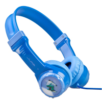 Mach Speed Technologies JBuddies Kids Volume Limiting On-Ear Headphones - Blue
