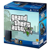 Sony PlayStation 3 500GB System GTA V Bundle