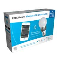 Robosmart 4-Pack 40W Wireless LED Smart Light - White