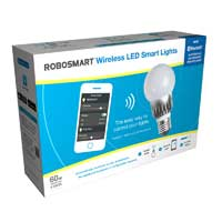 Smartbotics 4-Pack 60W Wireless LED Smart Light - White