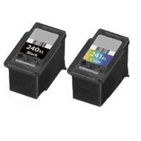 Micro Center Remanufactured Canon PG-240XL Black/CL-241XL Color Ink Cartridge Combo Pack
