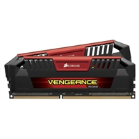 Corsair Vengeance Series 16GB DDR3-2400 (PC3-19200) CL11 Dual Channel Desktop Memory Kit (Two 8GB Memory Modules)