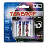 TenErgy Propel Lithium CR123A Battery 2 Pack