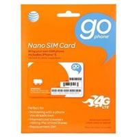ATT Mobility Nano GoPhone Sim Card Starter Kit