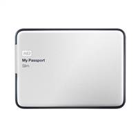 "WD My Passport Slim 1TB 5400 RPM USB 3.0 2.5"" External Hard Drive"