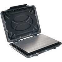 "Pelican Hardback Laptop Computer Case with Laptop Liner Fits Screens up to 15"" - Black"