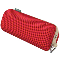 Sony SRSBTS50 Portable Splash-Proof NFC Bluetooth Wireless Speaker System Red