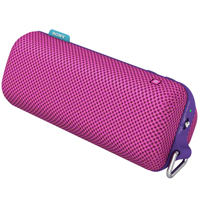 Sony SRSBTS50 Portable Splash-Proof NFC Bluetooth Wireless Speaker System Pink
