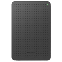 BUFFALO MiniStation 500GB SuperSpeed USB 3.0 Portable External Hard Drive HD-PCF500U3B