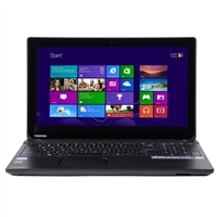 "Toshiba Satellite C55t-A5394 15.6"" Laptop Computer - Satin Black in Trax Horizon"