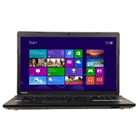 "Toshiba Satellite C75-A7390 17.3"" Laptop Computer - Satin Black in Trax Horizon"
