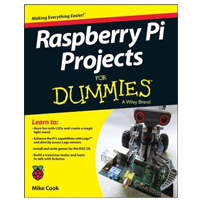 Wiley Raspberry Pi Projects For Dummies, 1st Edition