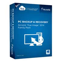 Acronis True Image 2014 Family Pack (PC)