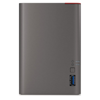 BUFFALO LinkStation 421e Diskless Network Attached Storage Personal Cloud Storage and Media Server - LS421DE