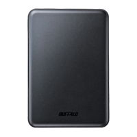 BUFFALO Ministation Slim 500 GBUSB 3.0 Portable Hard Drive HD-PUS500U3B - Black