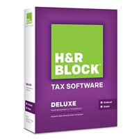 Block Financial Software H&R Block At Home™ Deluxe State 2013 (PC/Mac)