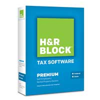 Block Financial Software H&R Block At Home™ Premium 2013 (PC/Mac)