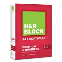 Block Financial Software H&R Block At Home™ Premium Business 2013 (PC/Mac)