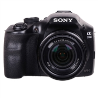 Sony Alpha A3000 20.1 Megapixel Digital SLR Camera - Black