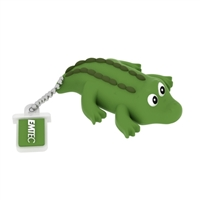 Emtec International Jungle Special Edition Crocodile 8GB USB 2.0 Flash Drive