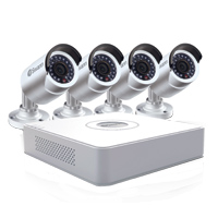 Swann Communications DVR8-1500 8 Channel Digital Video Recorder (DVR) and 4 x PRO-540 3.6mm Security Cameras with 65ft Night Vision