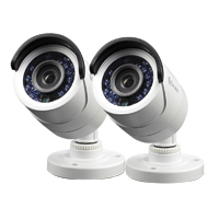 Swann Communications 2-Pack PRO-540 3.6mm 650 TV Lines Security Cameras with 65ft Night Vision