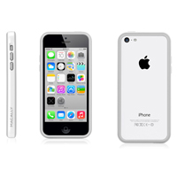 MacAlly Protective Frame for iPhone 5c - White/Gray