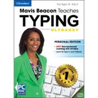 Encore Software Mavis Beacon Teaches Typing Powered by UltraKey: Personal Edition (PC / MAC)