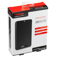 Toshiba Canvio Basics 1.5TB SuperSpeed USB 3.0 Portable Hard Drive - Black