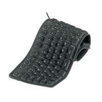 Vivitar Rollable Keyboard - Black