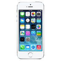Apple iPhone 5S 16GB - Silver (AT&T)