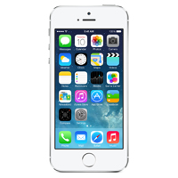 Apple iPhone 5S 32GB - Silver (AT&T)