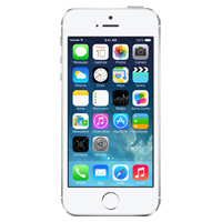 Apple iPhone 5S 64GB - Silver (Sprint)