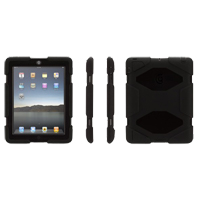 Griffin Survivor Cover for iPad 2/3/4 - Black