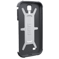 Urban Armor Gear Composite Hybrid Case for Samsung Galaxy S4 - Navigator - White