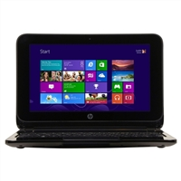 "HP Pavilion 10-e010nr TouchSmart 10.1"" Laptop Computer - Anodized Silver and Sparking Black with Micro Dot Design"