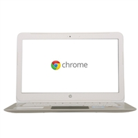 HP Pavilion 14-q070nr Chromebook - Snow White