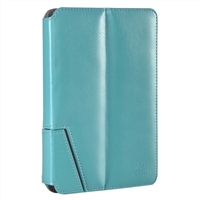 "Chil Inc Notchbook Leather Folio for Universal 8"" Tablets - Teal"