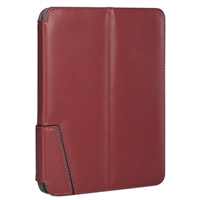 "Chil Inc Notchbook Leather Folio for Universal 8"" Tablets - Merlot"