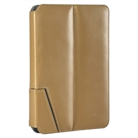 "Chil Inc Notchbook Leather Folio for Universal 7"" Tablets - Tan"