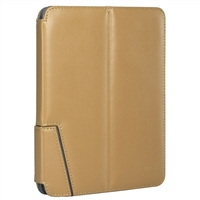 "Chil Inc Notchbook Leather Folio for Universal 8"" Tablets - Tan"